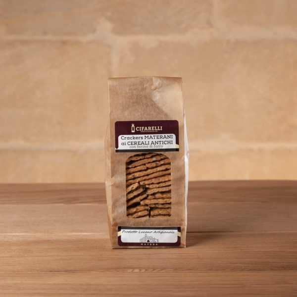 Crackers ai Cereali Antichi