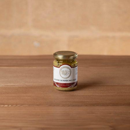 Mousse di Peperoni e Olive
